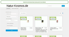 Preview of natur-kosmos.de