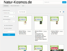 Tablet Preview of natur-kosmos.de
